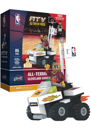 Cleveland Cavaliers 4 wheel ATV with Super Fan Collectible Oyo Set