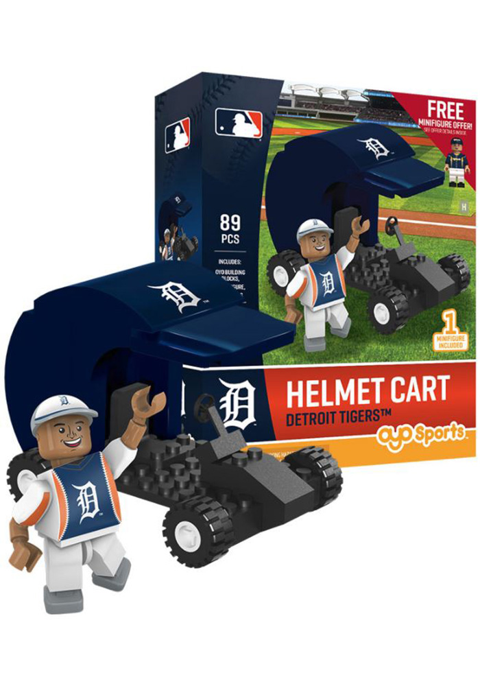 Detroit Tigers Helmet Car Collectible Oyo Set - Image 1