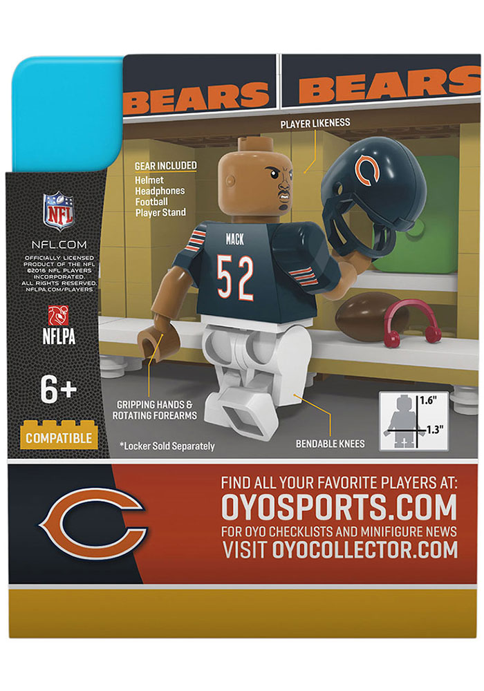 Chicago Bears Khalil Mack Collectible Player Oyo - Image 3