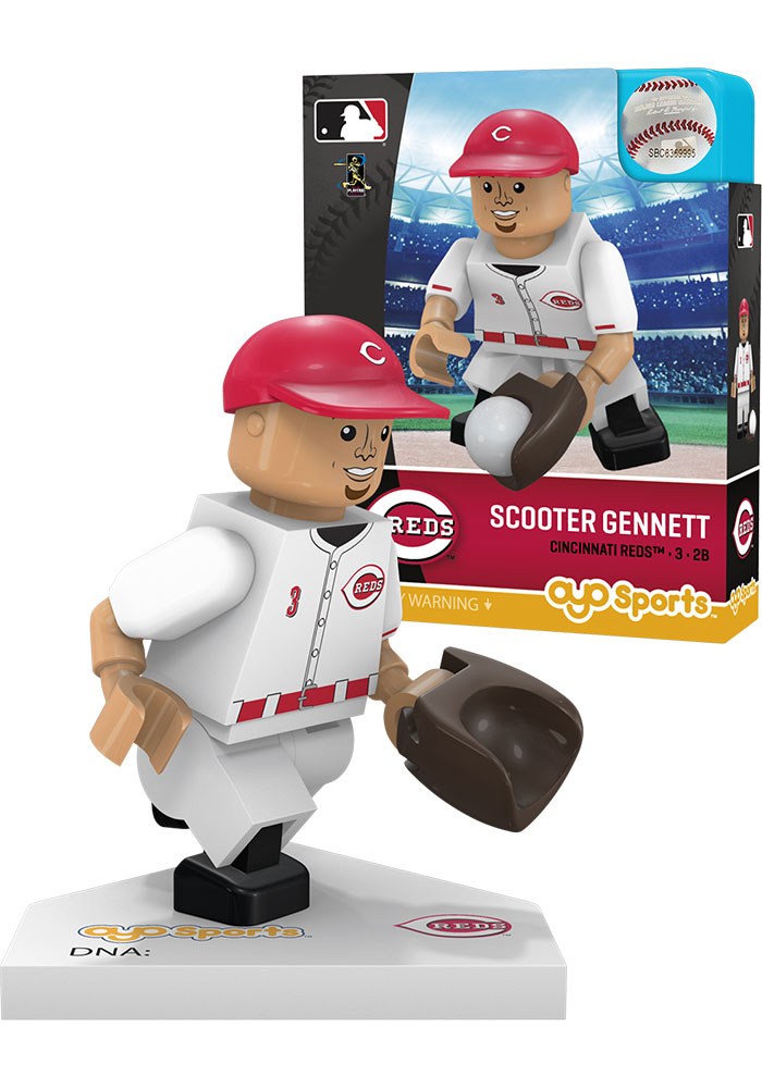 Cincinnati Reds Scooter Gennett Minifigure Collectible Player Oyo - Image 1