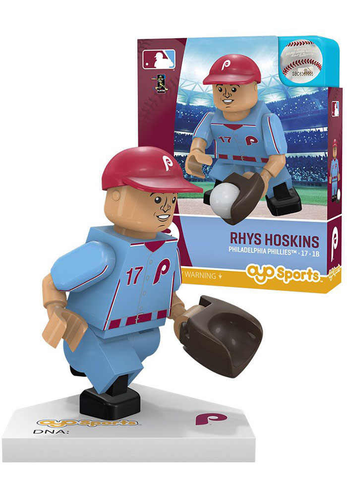 Philadelphia Phillies Rhys Hoskins Alternate Uniform Collectible Player Oyo - Image 1