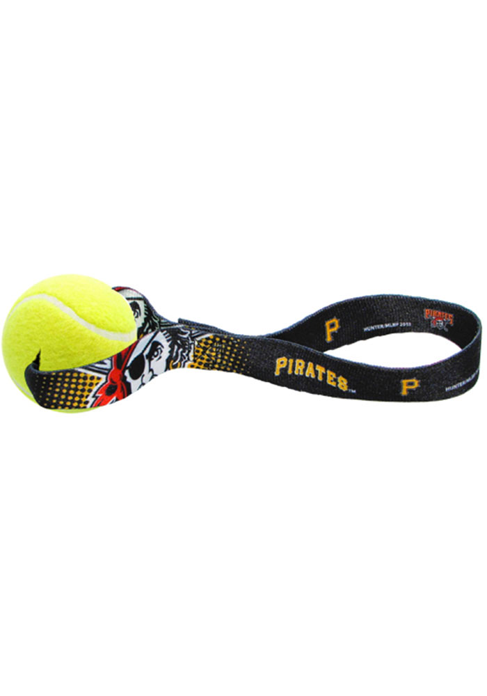 Pittsburgh Pirates Tennis Ball Toss Pet Toy - Image 1