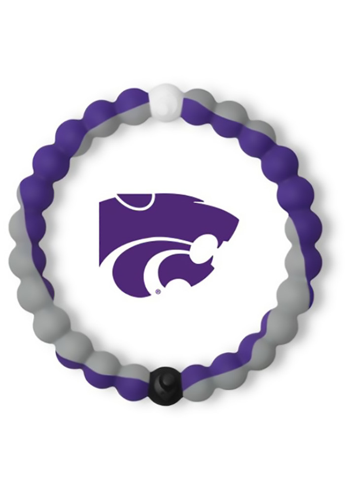 K-State Wildcats Lokai Gameday Mens Bracelet - Image 1