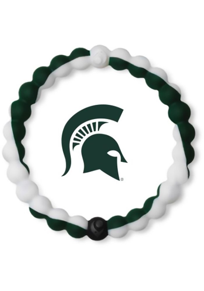 Michigan State Spartans Lokai Gameday Mens Bracelet - Image 1