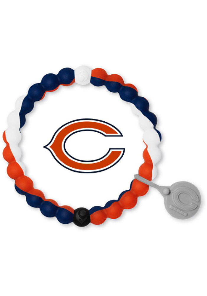 Chicago Bears Lokai Gameday Bracelet - Navy Blue