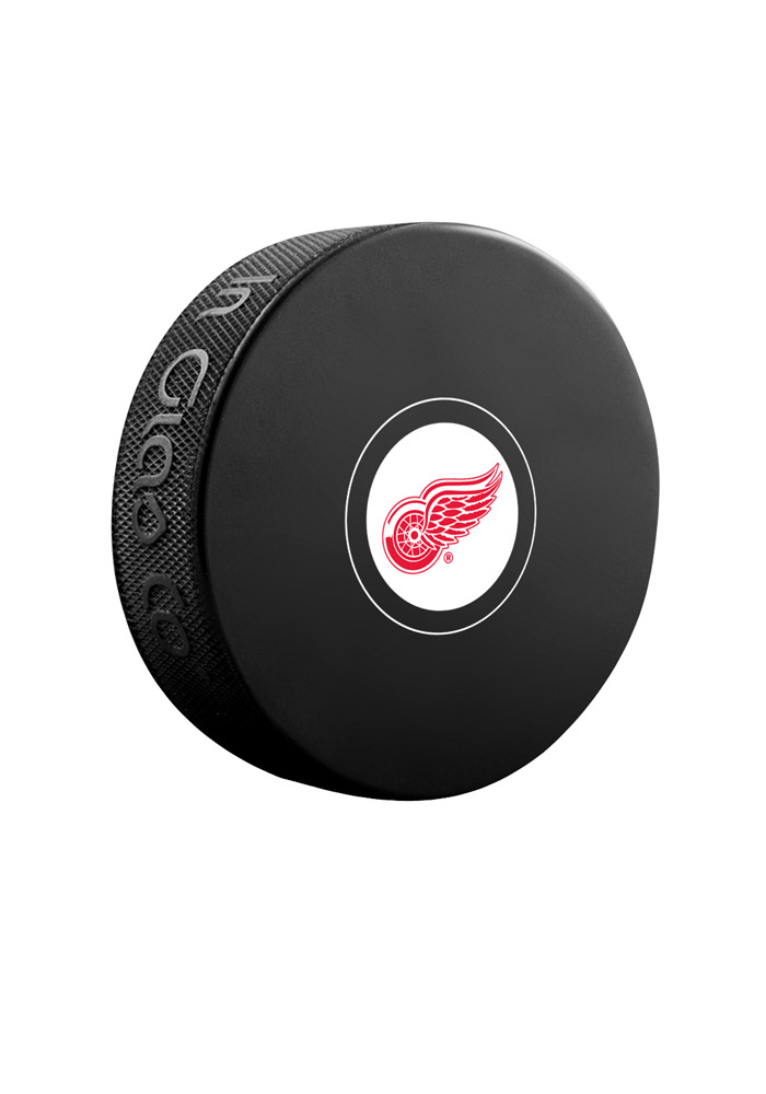 Detroit Red Wings Official Team Logo Autograph Puck