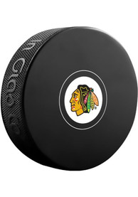 Chicago Blackhawks Official Team Logo Autograph Puck