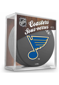 St Louis Blues 4 Pack Puck Coaster
