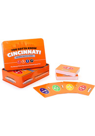 Cincinnati You Gotta Know Cincinnati Sports Trivia Game