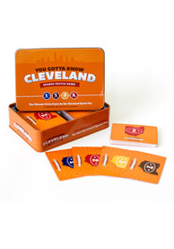 Cleveland You Gotta Know Sports Trivia Game
