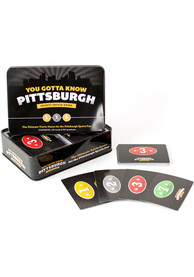 Pittsburgh You Gotta Know Sports Trivia Game