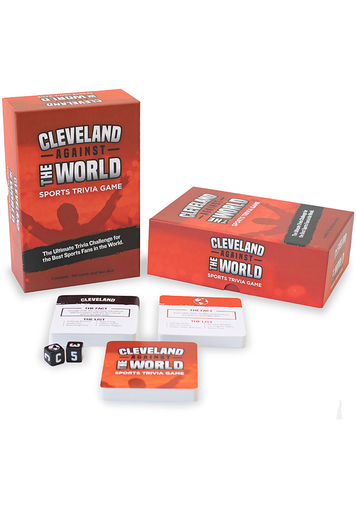 Cleveland Sports Trivia Game Game - Image 1