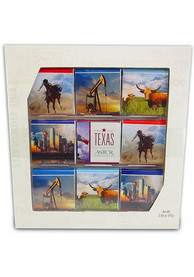 Texas 2.85 oz 9 Piece Chocolate Gallery Candy