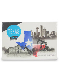 Texas 5.4oz Urban Canvas Truffle Box Candy