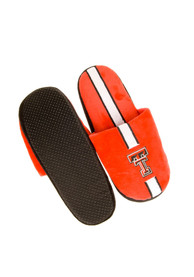 Texas Tech Red Raiders Hard Sole Stripe Slippers