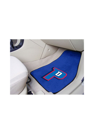 Detroit Pistons 2-Piece Carpet Car Mat
