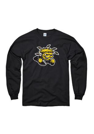 WSU Mens Black Big Mascot Tee