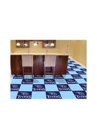 Tennessee Titans 18x18 Team Tiles Interior Rug