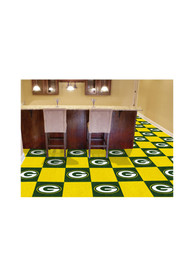 Green Bay Packers 18x18 Team Tiles Interior Rug