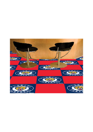 Florida Panthers 18x18 Team Tiles Interior Rug
