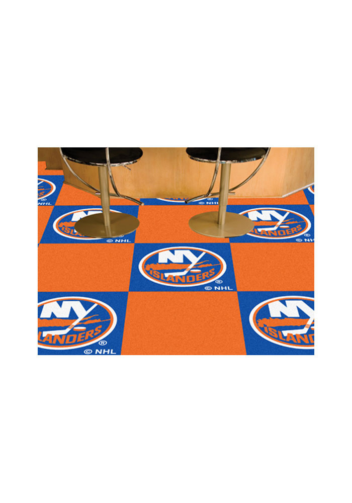 New York Islanders 18x18 Team Tiles Interior Rug - Image 1