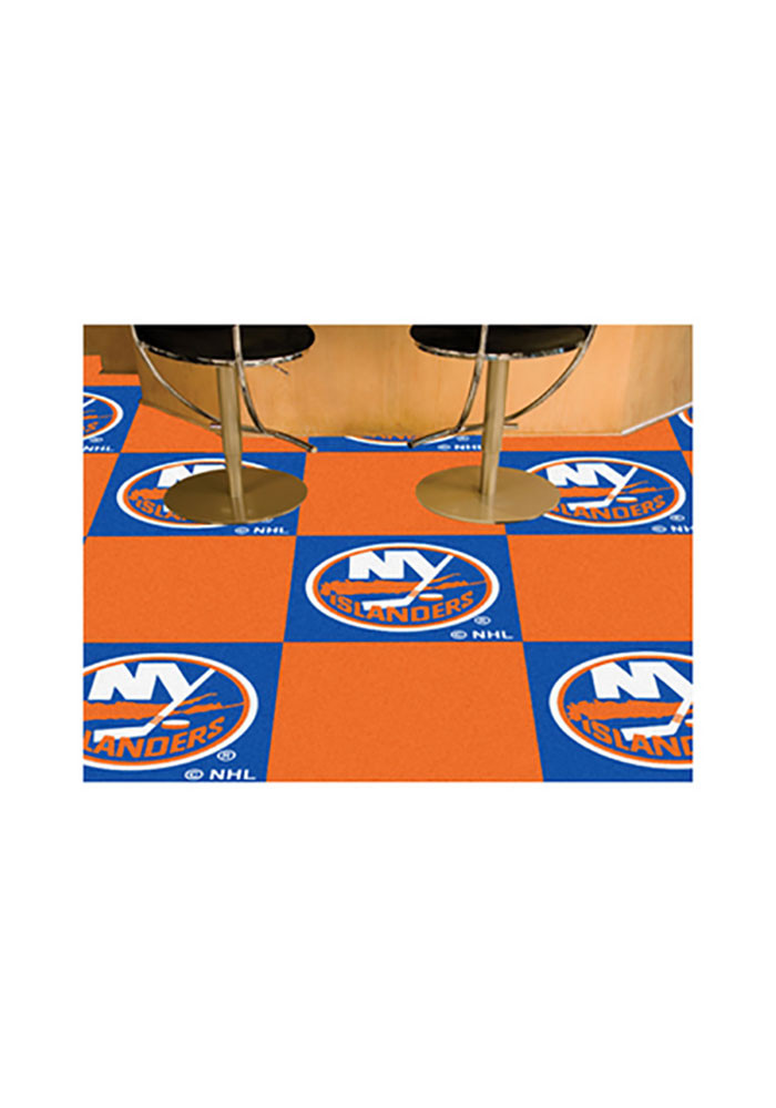 New York Islanders 18x18 Team Tiles Interior Rug - Image 2