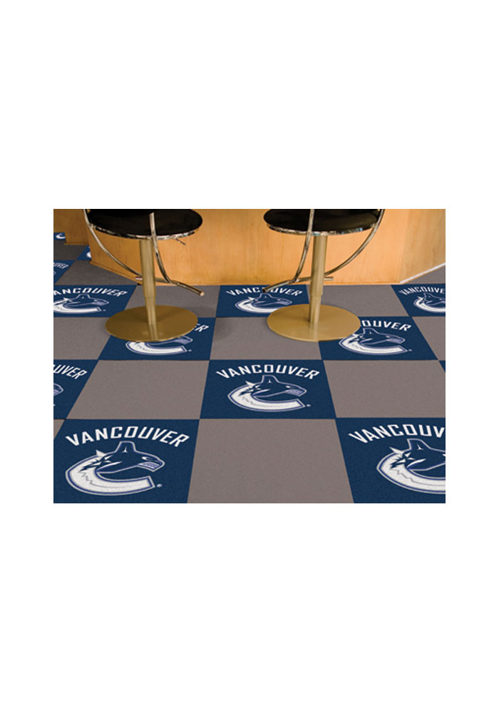 Vancouver Canucks 18x18 Team Tiles Interior Rug - Image 1