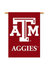 Texas A&M Aggies 28x40 Maroon Silk Screen Sleeve Banner