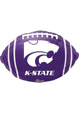K-State Wildcats Foil Football Shaped Balloon