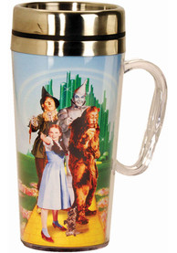 Wizard of Oz Cast Pointing Stainless Steel Travel Mug