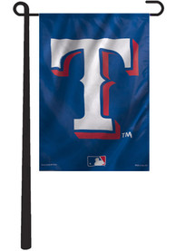 Texas Rangers 11x15 Blue Garden Flag