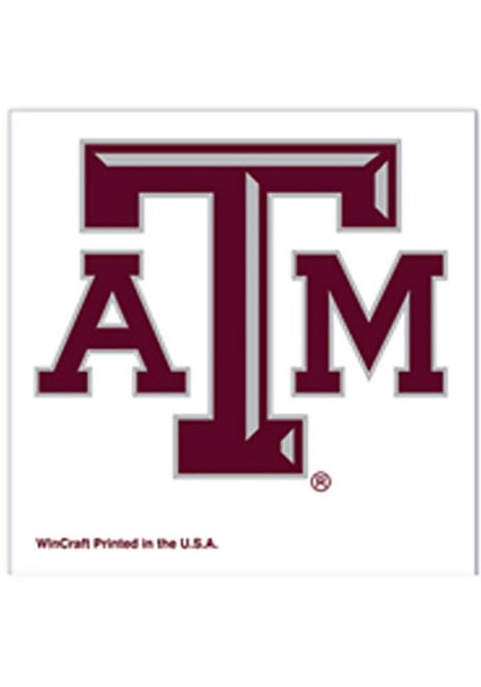 Texas A&M Aggies 4 Pack Tattoo - Image 1
