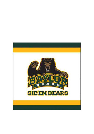 Baylor Bears 20 Pack Luncheon Napkins