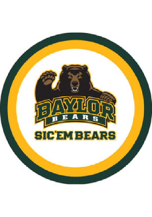 Baylor Bears 10 Pack Paper Plates