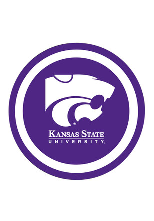 K-State Wildcats 12 Pack Paper Plates