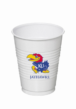 Kansas Jayhawks 8 Pack Disposable Cups