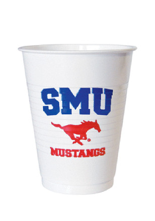 SMU Mustangs 8 Pack Disposable Cups