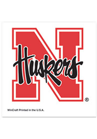 Nebraska Cornhuskers 4 Pack Tattoo