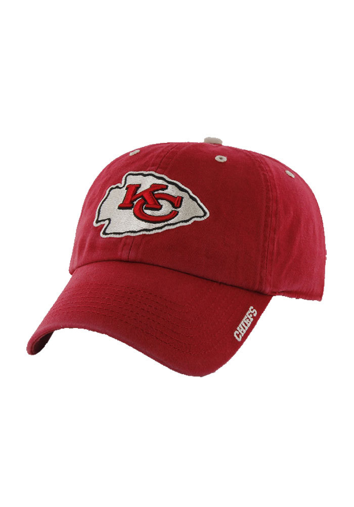 '47 Kansas City Chiefs Mens Red Ice Adjustable Hat - Image 1
