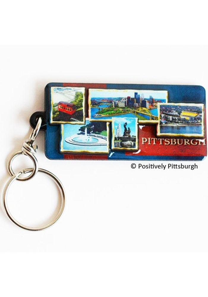 Pittsburgh Photos of Pittsburgh Keychain - Image 1