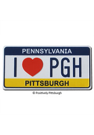 Pittsburgh I Heart PGH Magnet