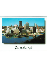 Pittsburgh City view Magnet