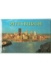Pittsburgh Pittsburgh Skyline at Dusk Magnet