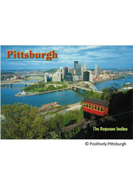 Pittsburgh Duquesne Incline and Point State Park Postcard