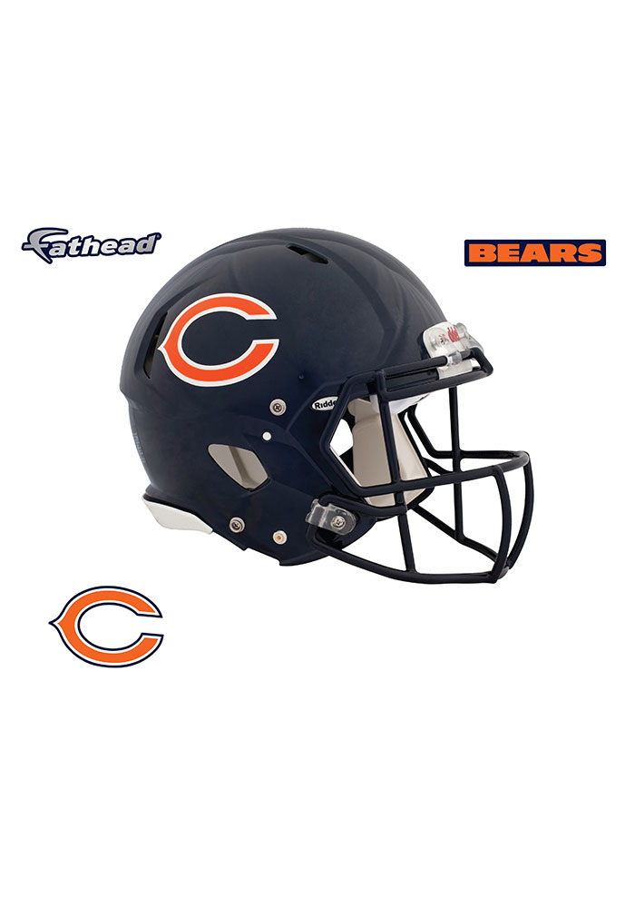 Chicago Bears Helmet Wall Decal - Image 1
