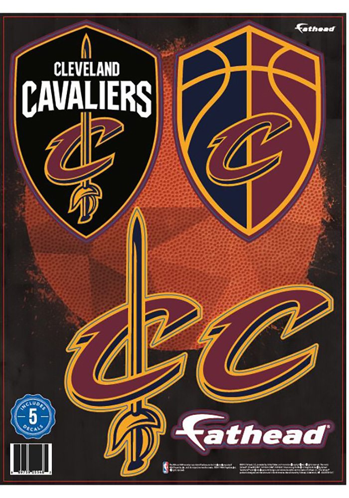 Cleveland Cavaliers 12x12 Teammate Logo Wall Decal - Image 1