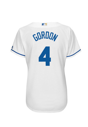 Alex Gordon KC Royals Womens Player Replica Jersey