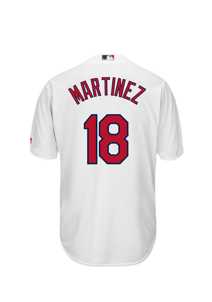 Carlos Martinez 18 St Louis Cardinals Mens White Player Replica Jersey - Image 1