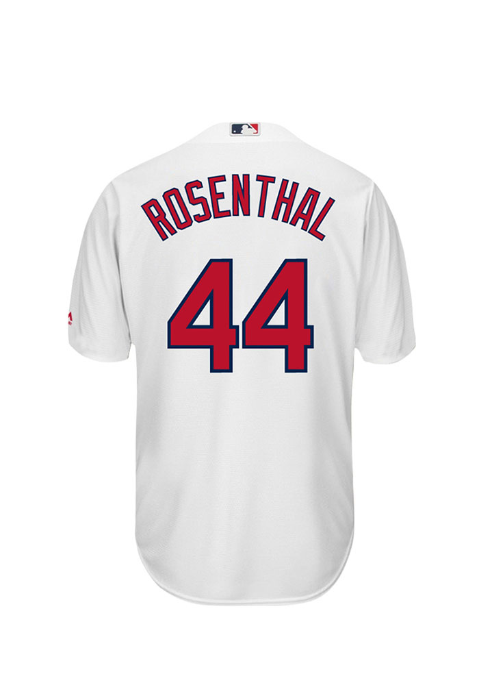Trevor Rosenthal 44 St Louis Cardinals Mens White Player Replica Jersey - Image 1