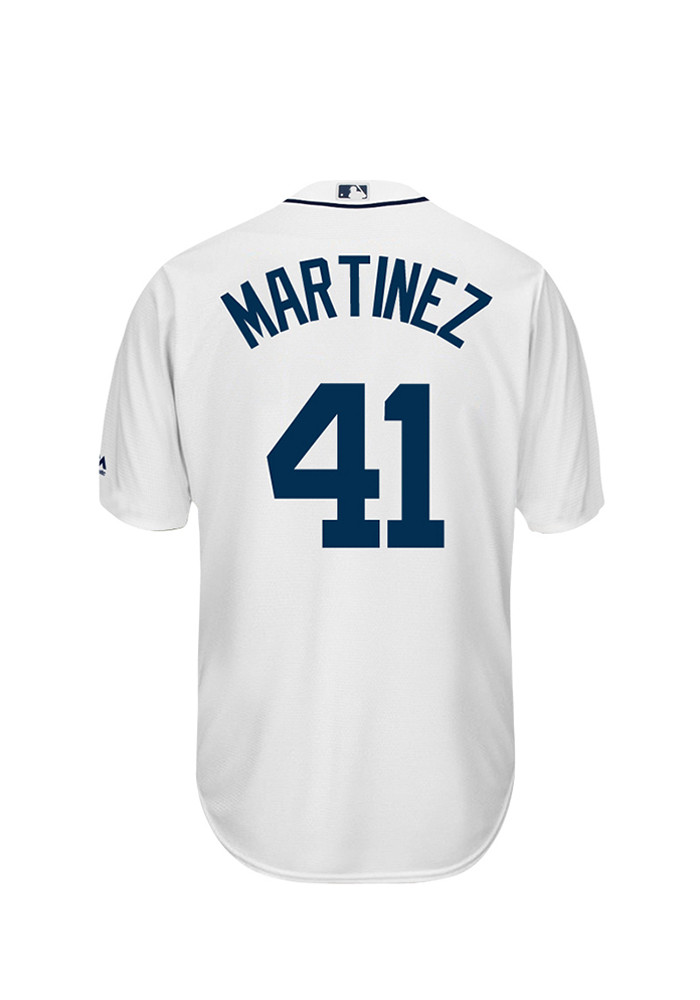 Victor Martinez 41 Detroit Tigers Mens White Player Replica Jersey - Image 1